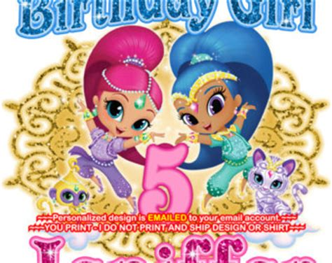 happy birthday to you shimmer and shine step into reading books tutus for etsy