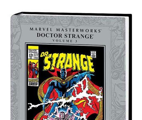 The Strange Library Ushardback marvel masterworks doctor strange vol 3 hardcover comic books comics marvel