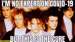 im  expert  covid      cure literally