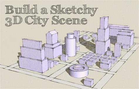 create a building map design a sketched 3d city map from scratch design shack