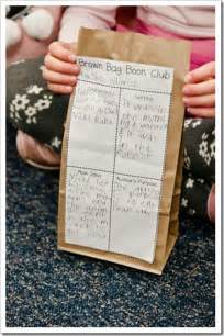 Brown Bag Book Report Grade by E Is For Explore Kid Book Club