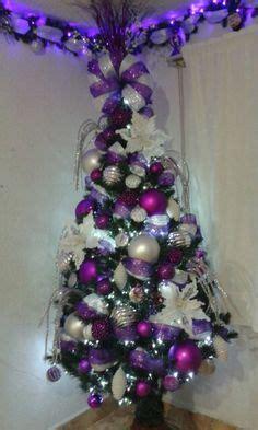 225 rbol navidad decorado morado tejimoda pinterest