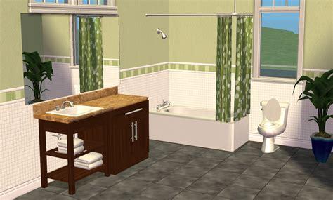 Sims 2 Bathroom by Mod The Sims Smallhouse Models Bathroom Set
