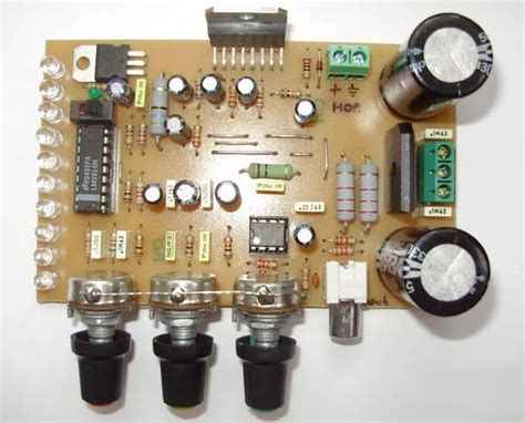 Tone Kontrol Stereo Bifet Jrc4558 Midrange complete lifier 100w tda7294 electronics projects circuits