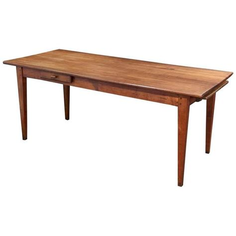 farm tables for sale farm table of cherry with a drawer and bread board for sale at 1stdibs