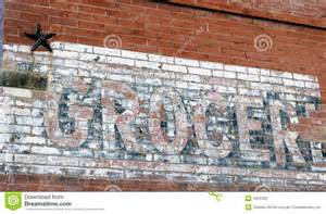 White Brick Wall Mural sign on old brick wall stock photography image 4255402