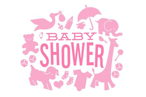 How Are Baby Showers by Baby Shower Icons Illustrations On Creative Market