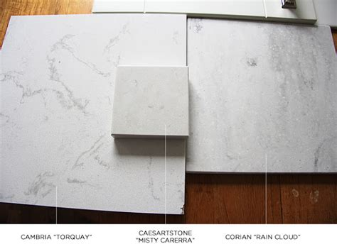 Corian Vs Caesarstone countertops like carrara marble book design