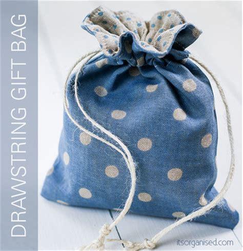 drawstring gift bags drawstring gift bag free sewing pattern favecrafts