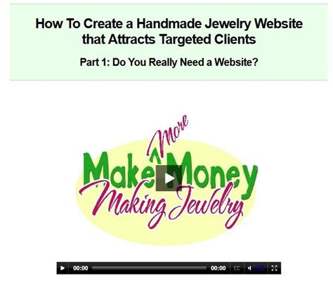 How To Start A Handmade Jewelry Business - how to create a handmade jewelry website that attracts