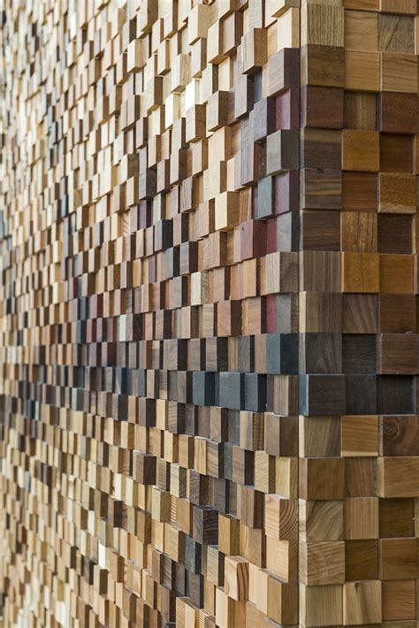 wood pattern shops lululemon yorkdale store by quadrangle architects