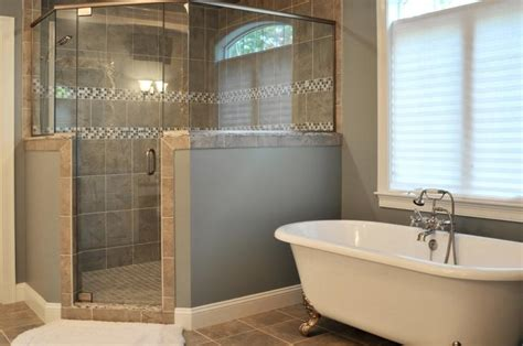 bathroom with separate shower and bathtub 3w design inc blog