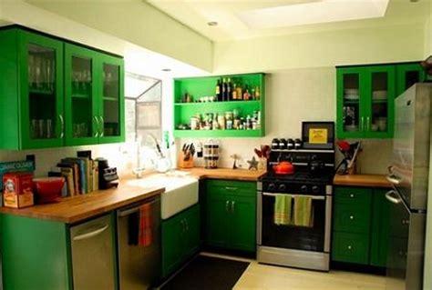 green home kitchen design decoraci 243 n 15 cocinas de color verde