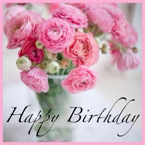 Happy Birthday Wishes With Roses 127 Best Happy Birthday Flower Images On Pinterest