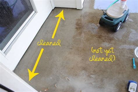 concrete cleaner for the home