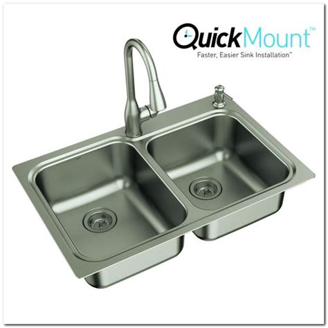 Kitchen Sink 33x22 Franke Undermount Stainless Steel Kitchen Sink Sink And Faucet Home Decorating Ideas Xlajwb9x7n