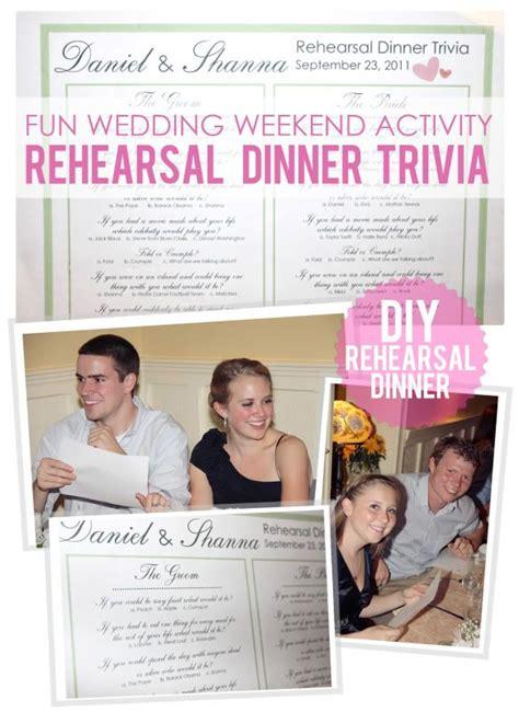 fun dinner games rehearsal dinner games on pinterest bride speech