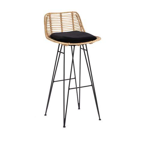 Chaise De Bar Rotin by Chaise De Bar Design En Rotin 75cm Capurgana Drawer