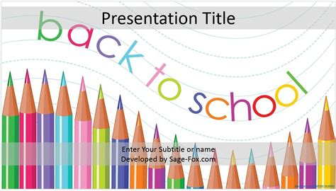 back to school powerpoint template back to school powerpoint template 4168 free powerpoint