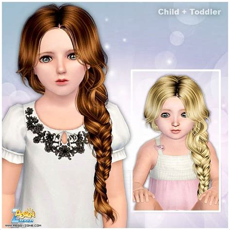 sims 3 child hair girl 85 best the sims 3 hair child toddler baby images on