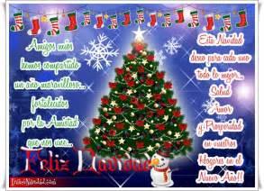 palabras navidenas mensajes de navidad para amigos deseos navidenos feliz navidad frases navide 241 as para los amigos con 225 rbol de navidad