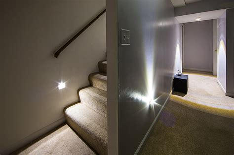 led staircase and basement lighting power outage starter