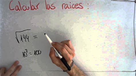 raiz cuadrada 144 calcular raiz cuadrada de 144 youtube