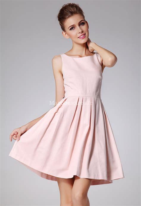 Robe de cocktail rose pour gala