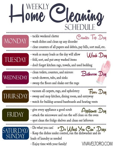 kitchen cleaning tips to do each day ad a quick efficient home cleaning routine printable