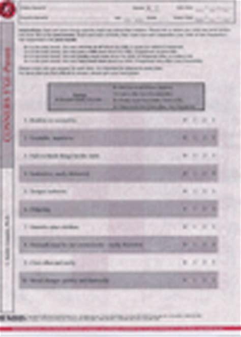 conners  global index parent pkg independent