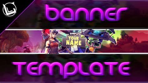 Banner Gratis Para Youtube Template De Fortnite Lean 2k18 Youtube Fortnite Banner Template