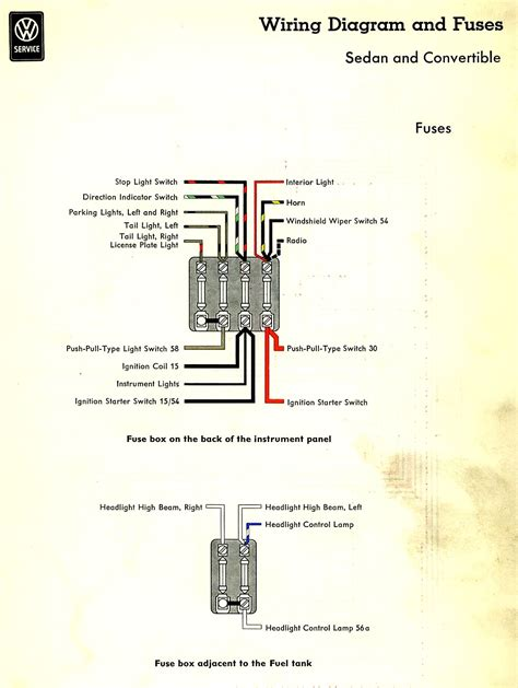 modern 1974 vw beetle wiring diagram mold simple