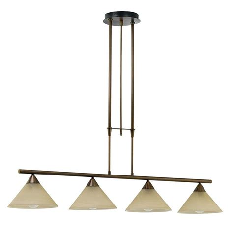 Eglo Island Lighting Eglo Madai 4 Light Bronze Hanging Island Light 20956a The Home Depot