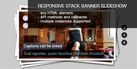 banner design jquery jquery stack banner slideshow with captions javascript
