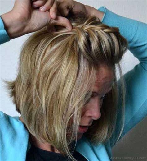 step by step braid short hair 56 cute short braid haircuts for sweet girls