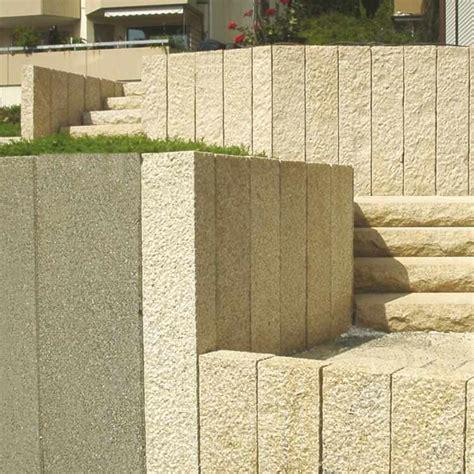 Palisade Stele Garten Granit