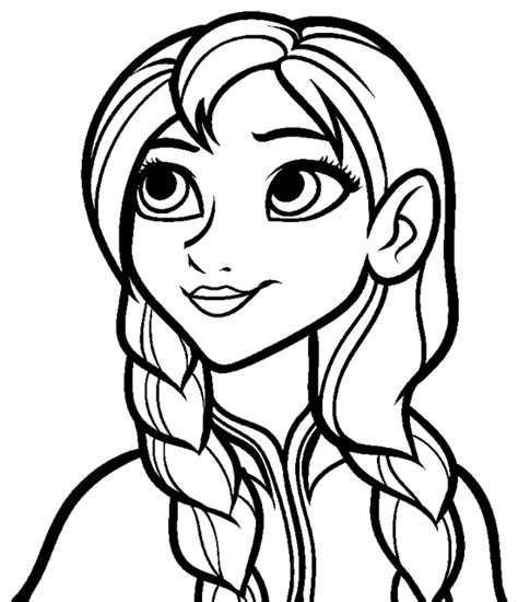 coloring books princess ann portrait print free download