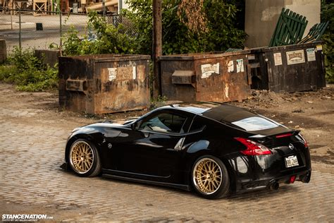 nissan 370z stance living a dream jimmy s nissan 370z stancenation