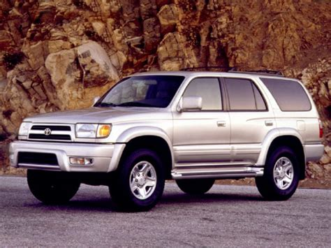 Toyota 4runner Reliability 1999 Toyota 4runner Specs Safety Rating Mpg Carsdirect