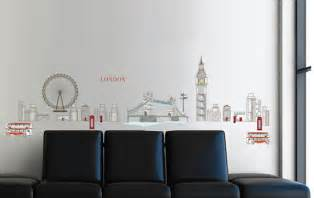 London Wall Art Stickers London Wall Decals British Wall Stickers Buy Removable