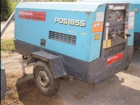 used airman pds 185s compressors for sale mascus usa