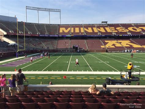 bank sections tcf bank stadium section 143 minnesota football