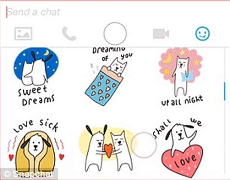 All Snapchat Stickers