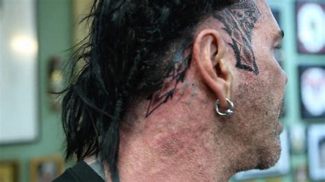 rich piana getting sides of tattooed because he doesn