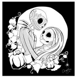 Nightmare before christmas color pages az coloring pages