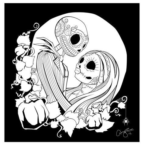 printable coloring pages nightmare before christmas nightmare before christmas coloring page coloring home