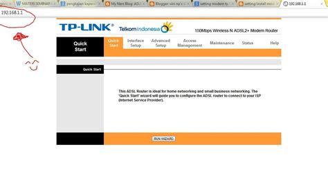 Modem Speedy Tp Link Td W8151n cara setting modem speedy dengan tp link td w8151n vini