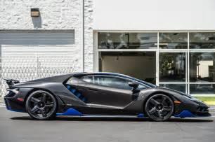 Lamborghini And Lamborghini Centenario Delivered To U S Customer