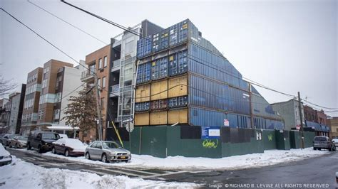 shipping containers as homes offices in williamsburg shipping container apartments unprecedented but still