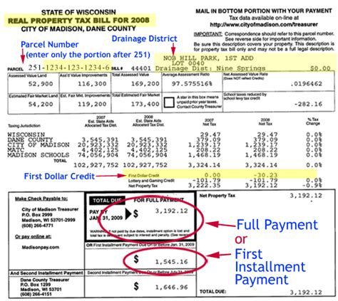 Sf Property Tax Records Real Property Tax Bill Sle Property Taxes Epayment